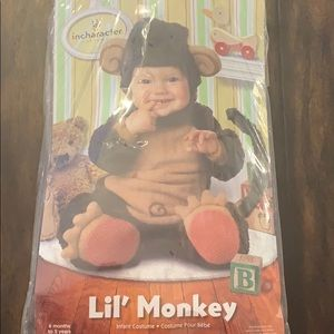 Monkey costume size M 12-18 months